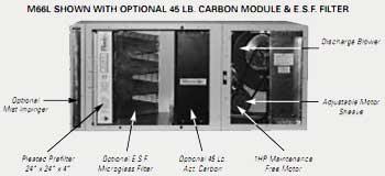 M66R&L Media Air Cleaner Specs