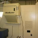 Rear View of Mori Seiki Machine Tool with Installed MistBuster