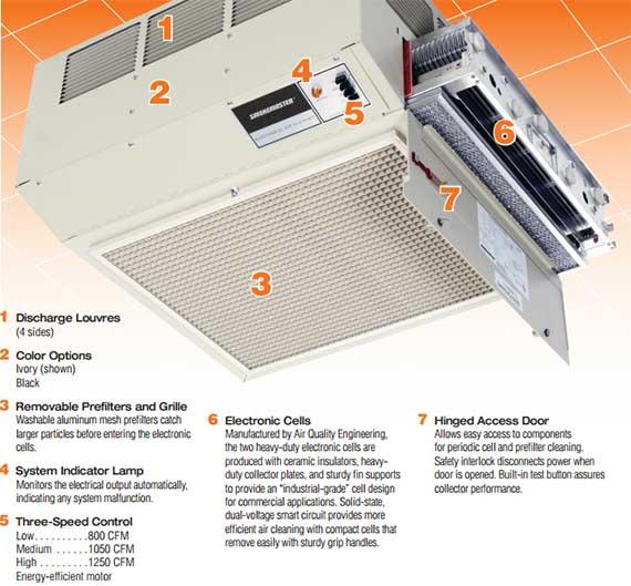 C12 Air Cleaner Big Diagram