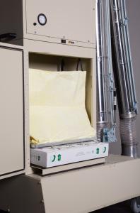 M33V media air cleaner - inside