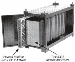 MicroGlass Air Cleaner Diagram