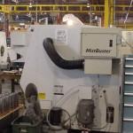 MistBuster on HAAS machine tool big