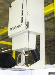 MistBuster machine mount stand