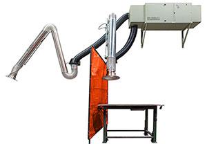 M66 media air cleaner for welding