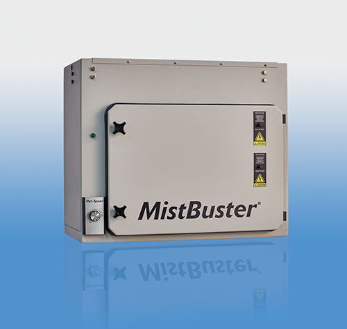 MistBuster 850 Compact - blue background
