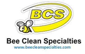 BCS Bee Clean Specialties logo