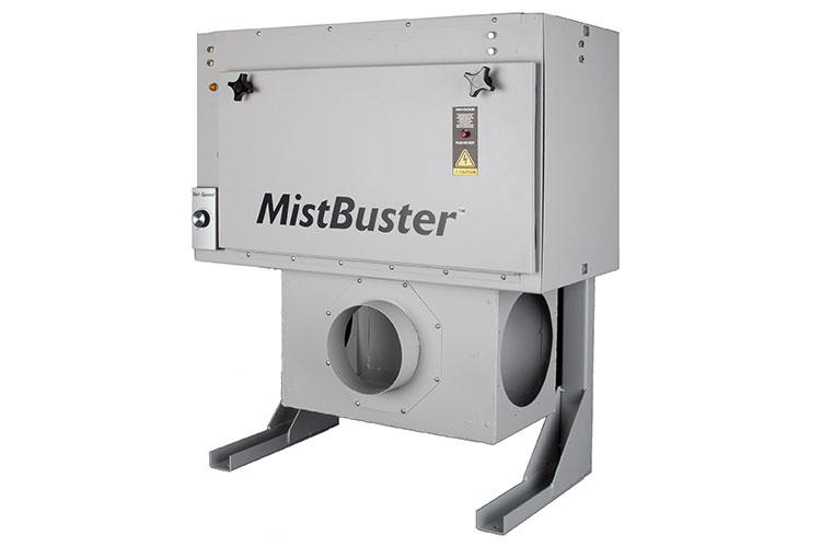 standard MistBuster plenum