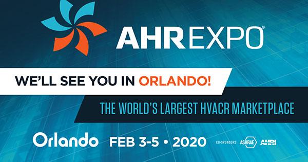 AHR Expo 2020 logo